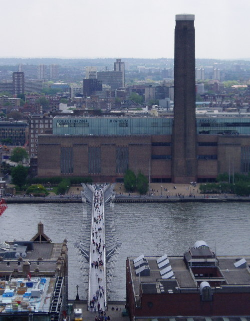 Millennium Bridge and Tate Modern