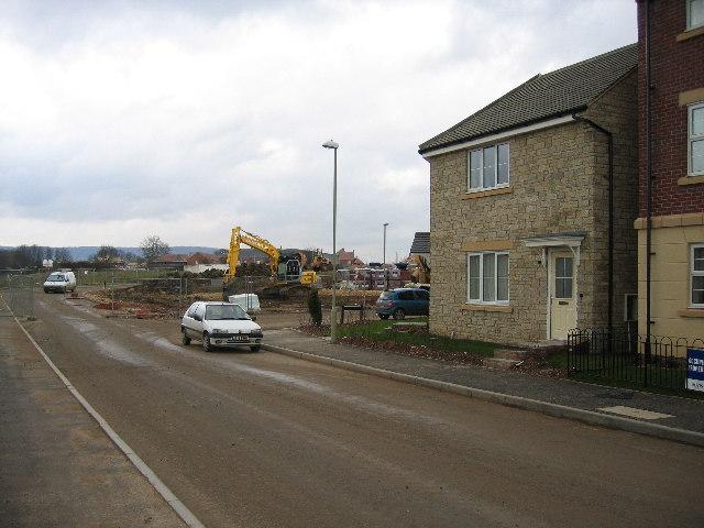 New housing, RAF Quedgeley