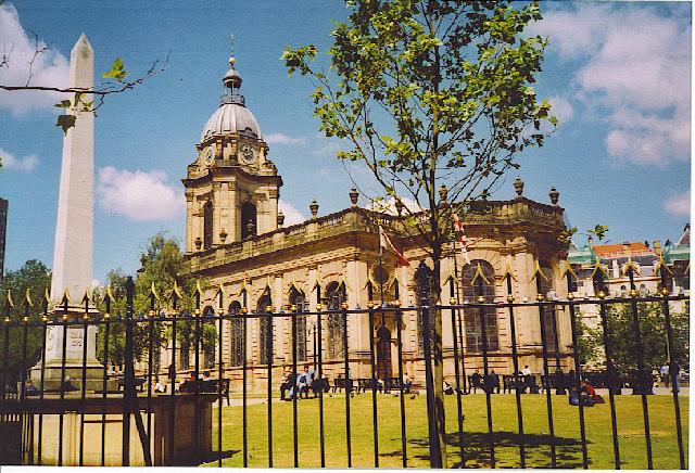 Birmingham Cathedral.
