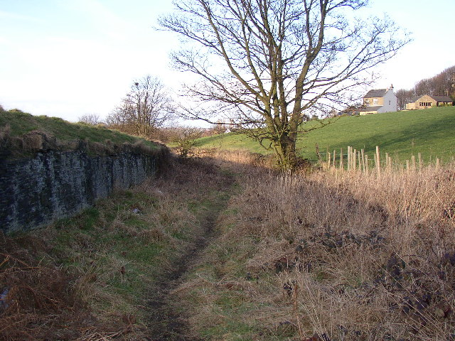 Old lane off Toothill Bank, Rastrick, Yorkshire