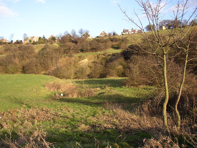 Former quarry below Toothill, Rastrick, Yorkshire