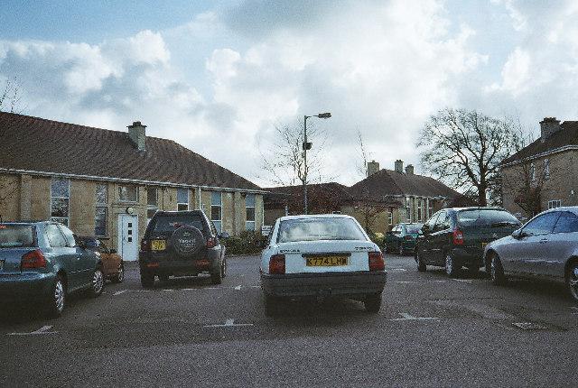 Car Park at Paulton Hospital