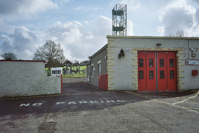 Clutton Rural District Fire Station, Paulton