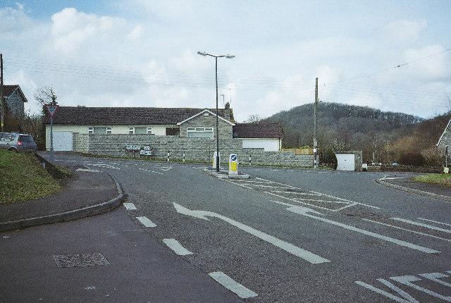 Hallatrow Junction,  A39 Bath to Farrington Gurney Road
