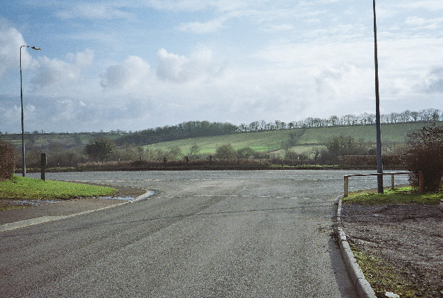 Junction on the A362 for Farrington Fields Business Park
