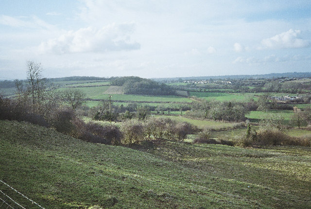 Fields - looking towards Farrington Gurney