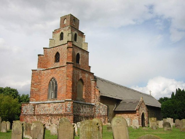 Parish Church of St Mary the Virgin, Burgh St Peter