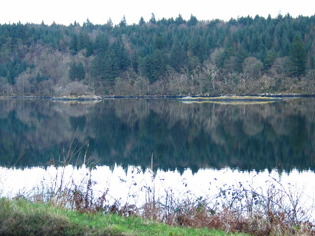 Reflections on Caol Scotnish.