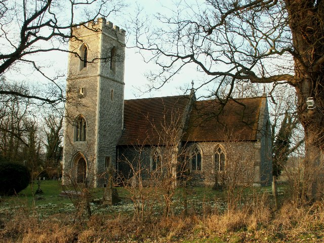 St. Catherine's Church - Sacombe, Hertfordshire