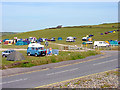 SM8421 : Newgale Camp Site by Linda Bailey