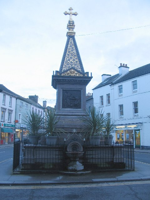 George Moore Memorial Fountain, Wigton