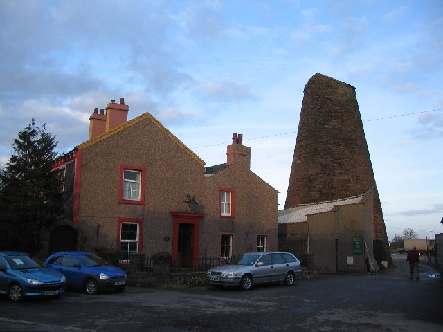 Station Villa and Windmill at Wigton