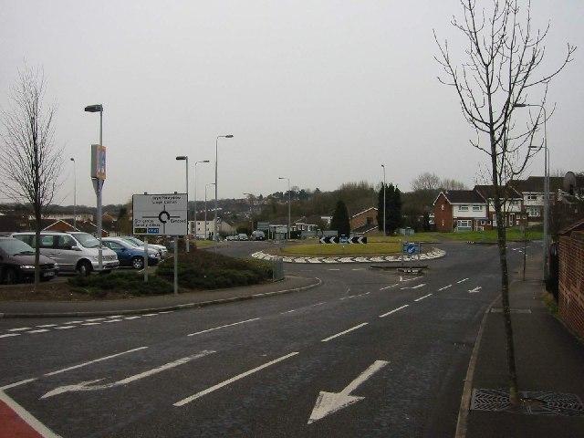 Pentwyn Road Roadabout