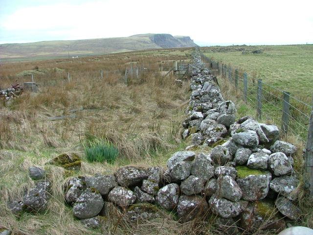 Boundary Wall in Bornesketaig