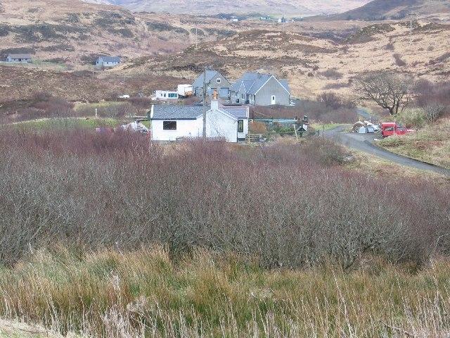 Houses at Fiskavaig