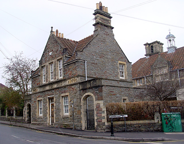 Bishop Road School - original building