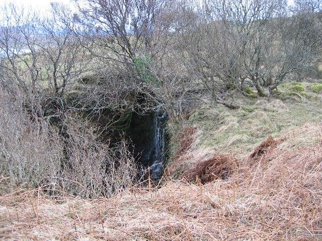 Waterfall on Allt Mor
