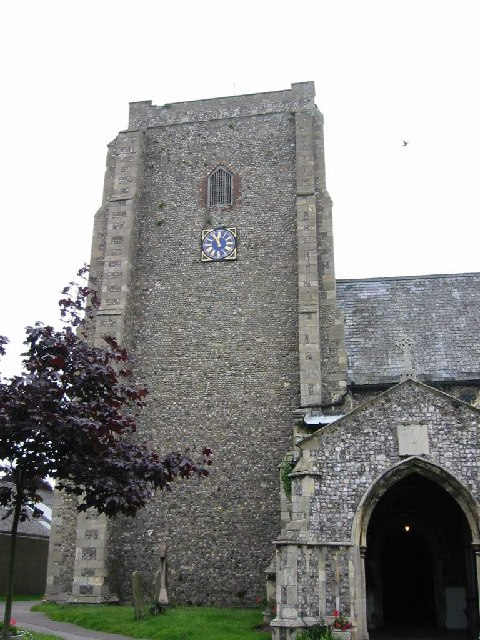 Church Tower and Porch at St Mary Stalham