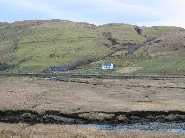 Salt Marsh at Drynoch