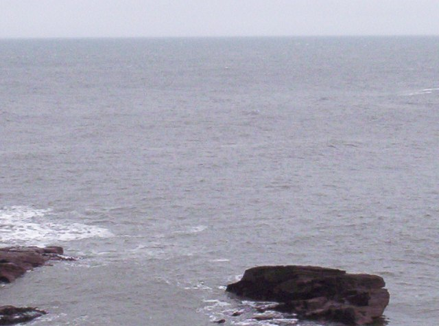 North Sea and Rocks
