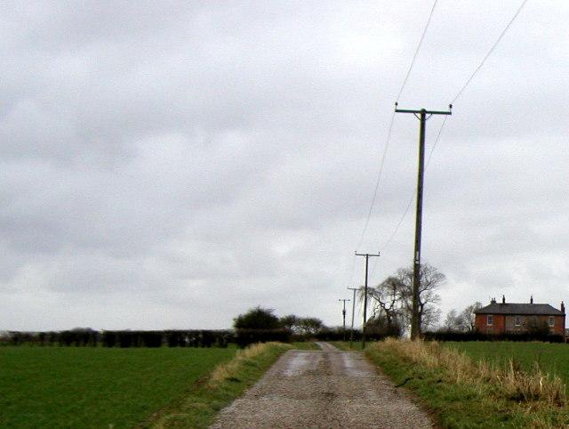 Farm Track near Rise