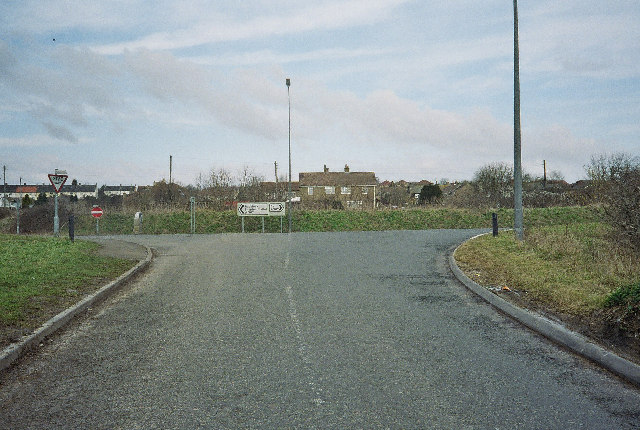 Junction on Peasedown Bypass