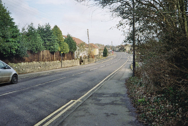 The Old A367 Through Peasedown St John