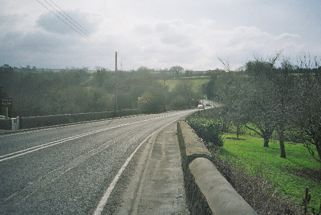 A367, Dunkerton Looking Towards Peasedown St John