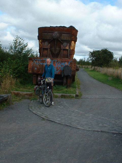 The ore wagon at Lydgett's Junction