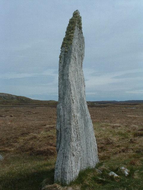 Standing stone at Calanais 3.
