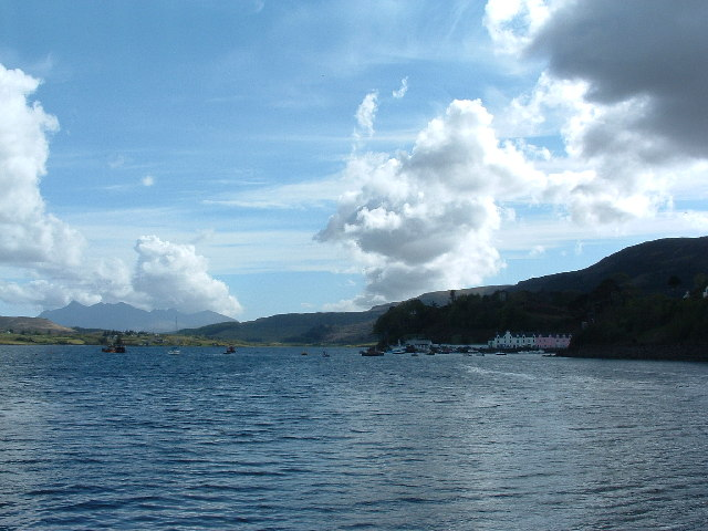 Portree and the Cuillin