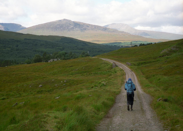 West Highland Way south of Bridge of Orchy