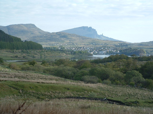 Portree and the Old Man of Storr