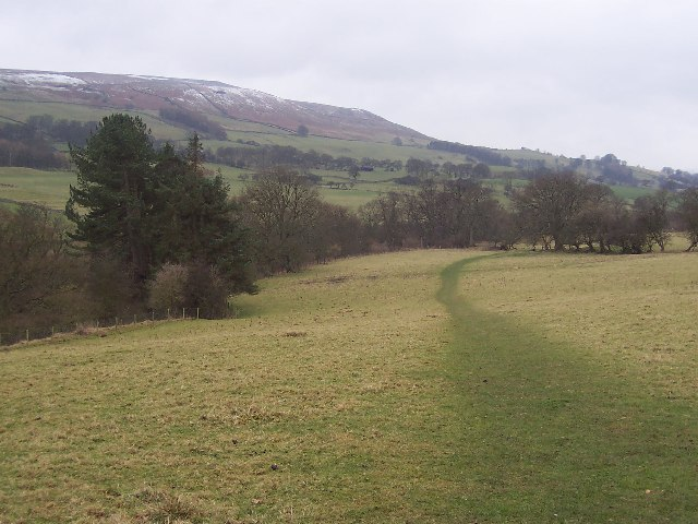 Path above Cover Banks