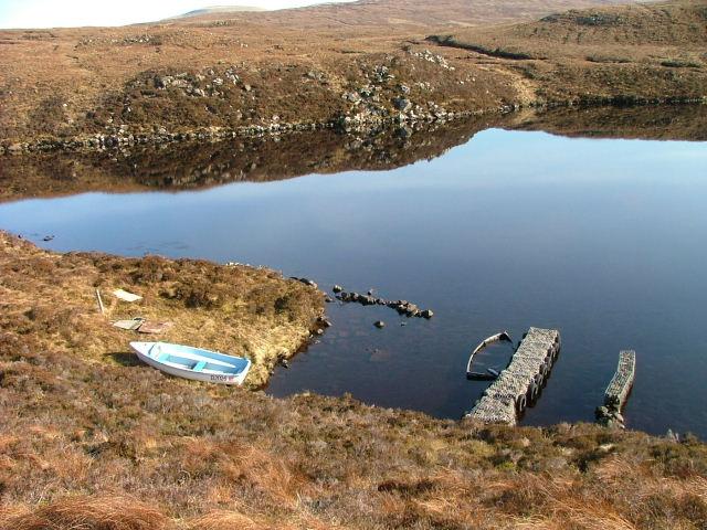 Boats at Loch Mor