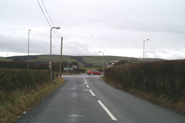 Junction on the A590