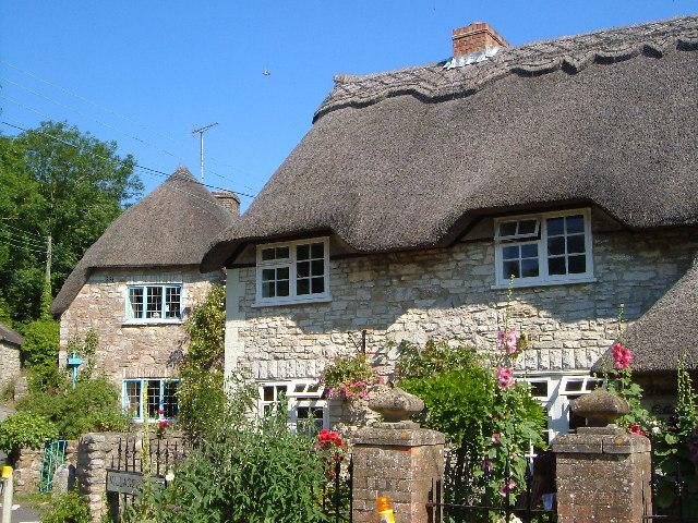 Thatched cottages, Osmington