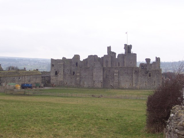 Middleham Castle from the South