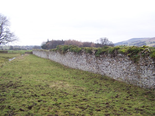 Substantial Wall at Agglethorpe