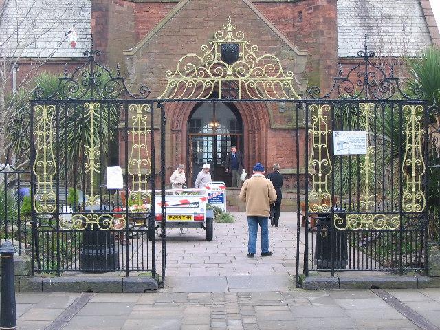 Gates  to St. Nicholas Tower Chapel
