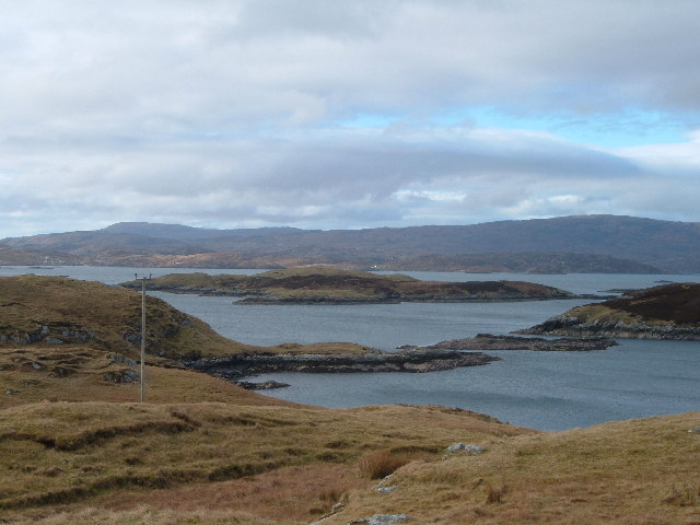 Islands off the West coast of Scalpay