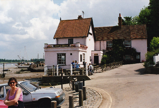 Butt & Oyster Inn, Pin Mill, Suffolk.
