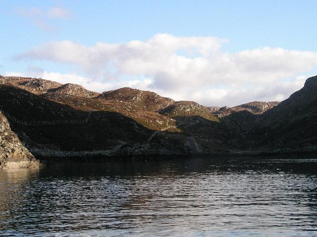 Slipway at Loch Calbha