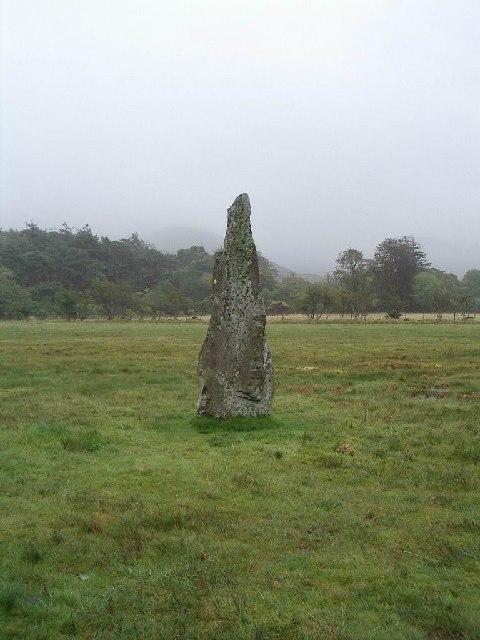 Standing stone near Loch Buie