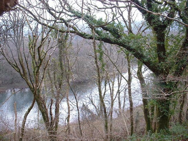 Afon Glaslyn near Prenteg