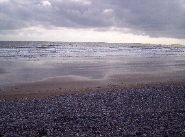 Beach near Arbroath Golf Course