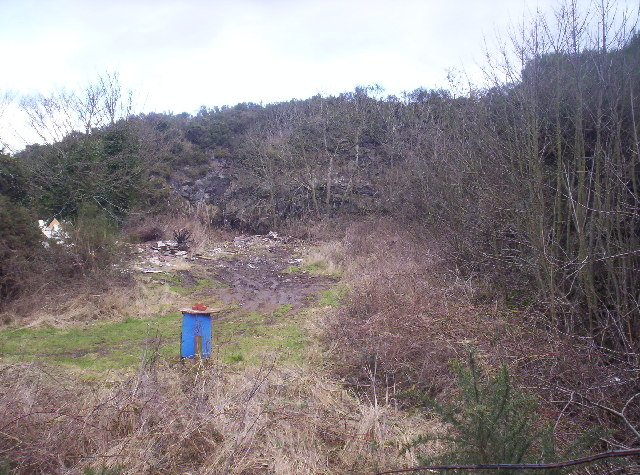 Small Quarry Near Craigend