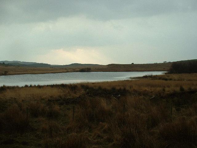 Llyn Du near Cwm Ystradllyn