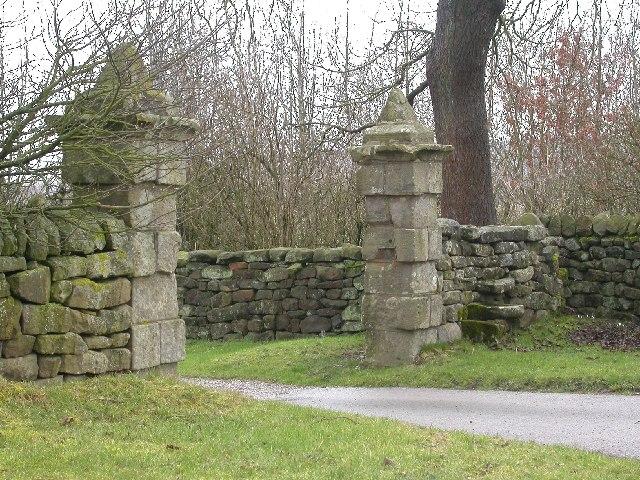 Gateway to Shaw Hall
