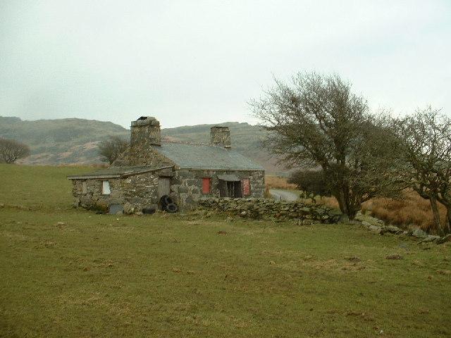 Ty Newydd near Cwm Ystradllyn